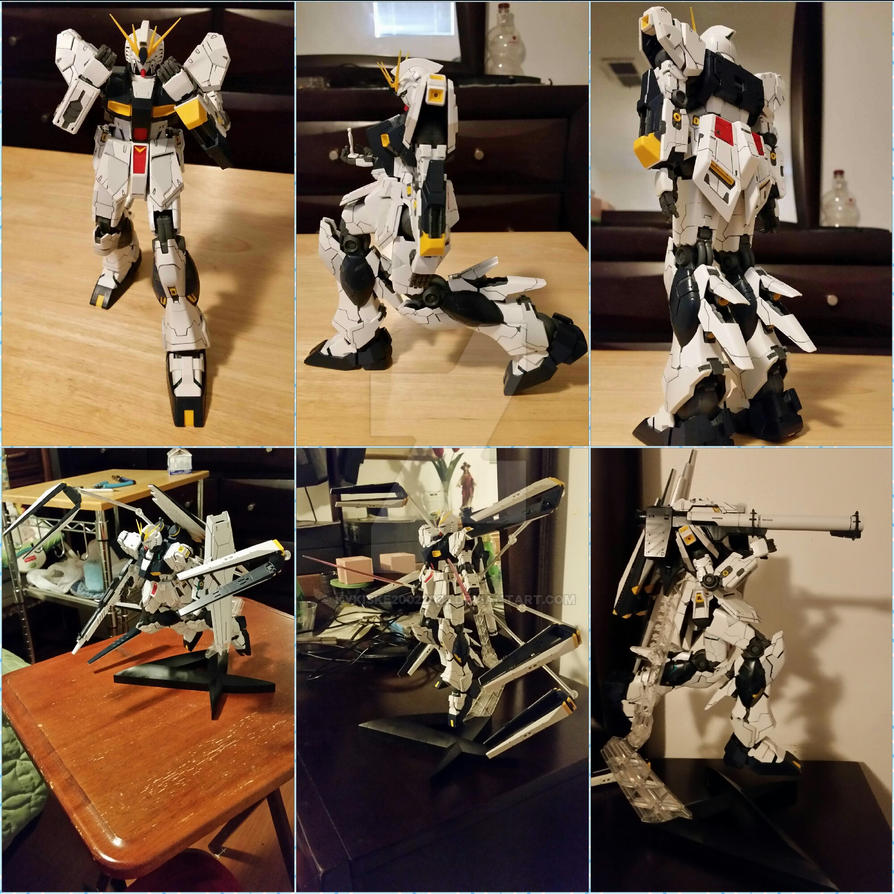 Amuro Ray's Customize MS for New Type Photo C. by kykiske20022003