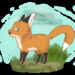 Chibi Foxstar doodle
