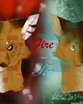 Glitched Fox n' Ghost | Fire n' Ice