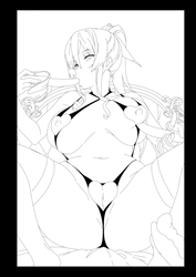 Espada Erotic Lineart by codegeman