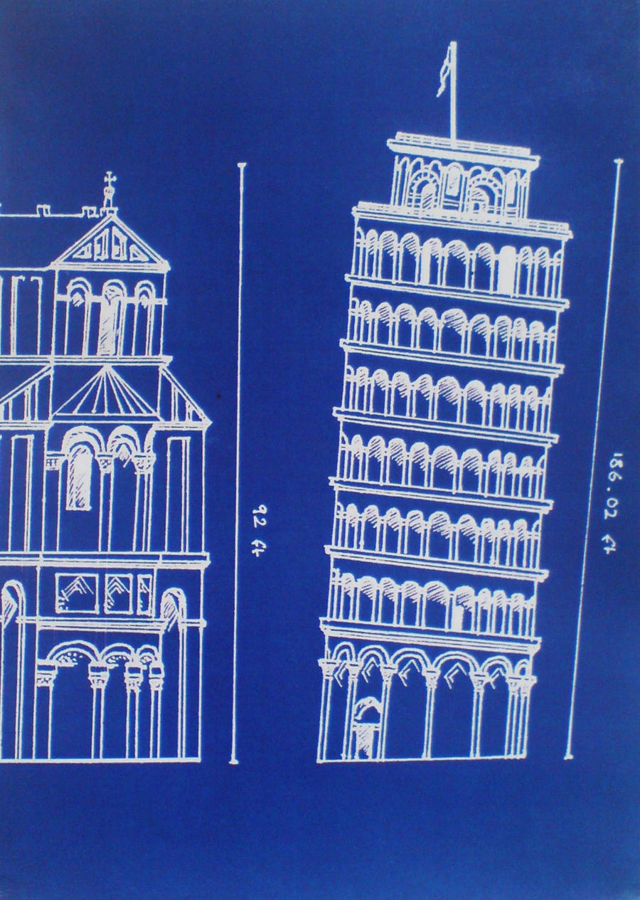 how to make a model of leaning tower of pisa