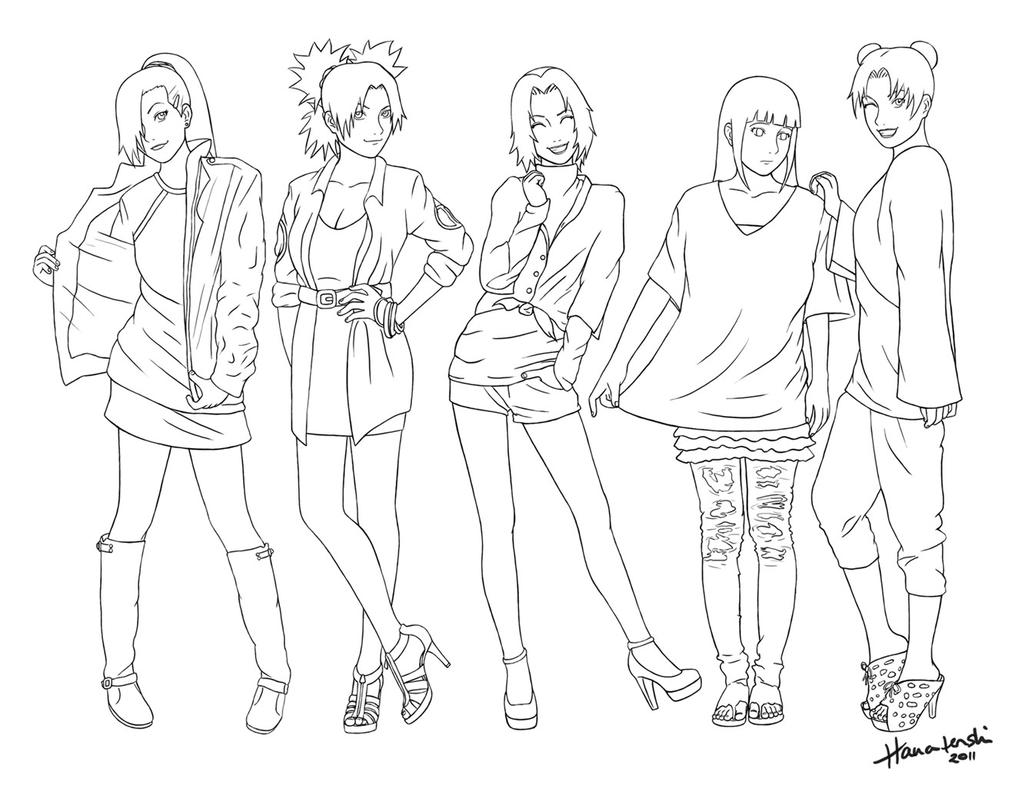 Modeling Coloring Pages Women