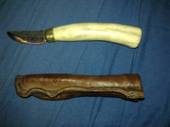 The first knife I ever made