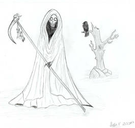 Mister Death with Raven