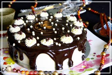 Trial Chocolate Cake 1!