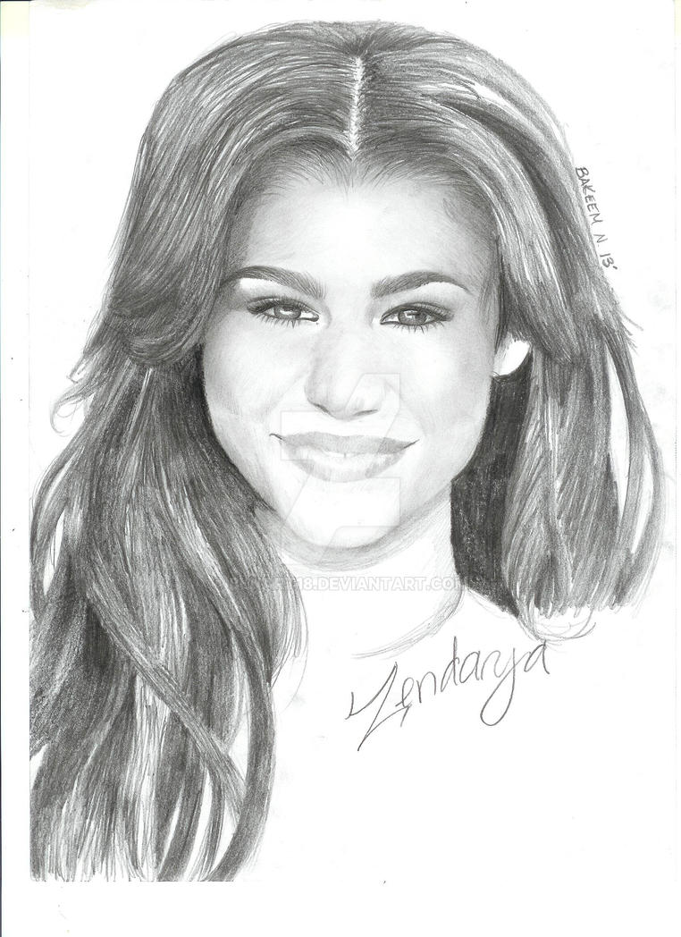 coloring pages of zendaya - photo#26
