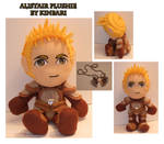 Dragon Age Alistair Plushie
