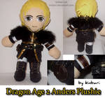 Dragon Age 2 Anders Plushie