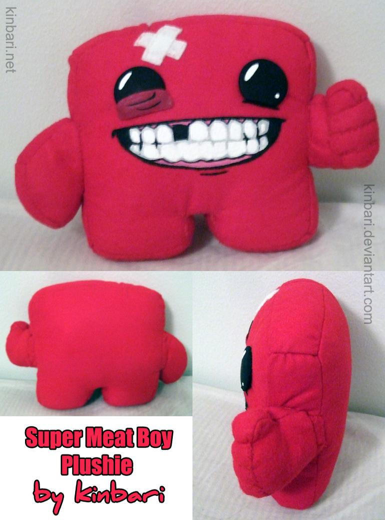 Popular Super Meat Boy Plush by kinbari on DeviantArt UV69