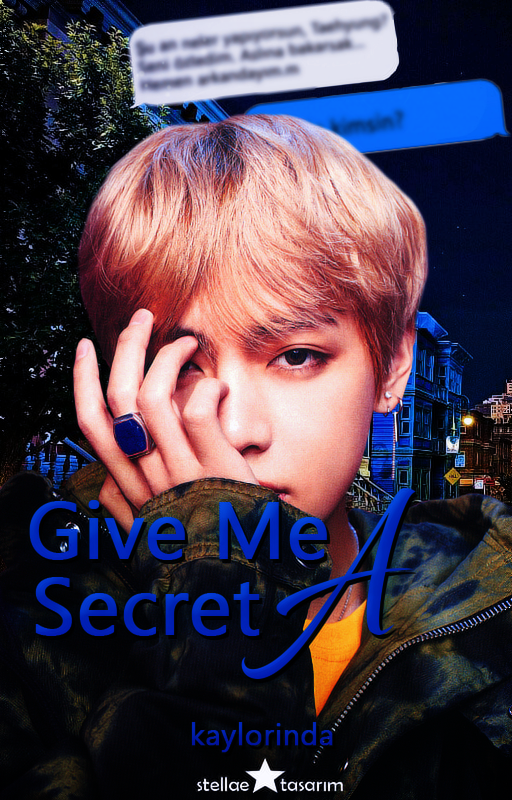Give Me A Secret / Wattpad Book Cover 18 by sahlimamat