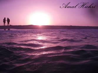 Sunset by AmalHc