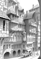 Bejofa's Street by Wenlock