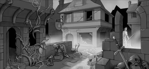 Neighborhood gone bad... by Wenlock