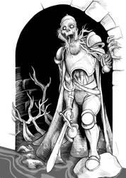 Fallen watchman by Wenlock