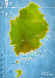 Map of the Lost Island by Wenlock