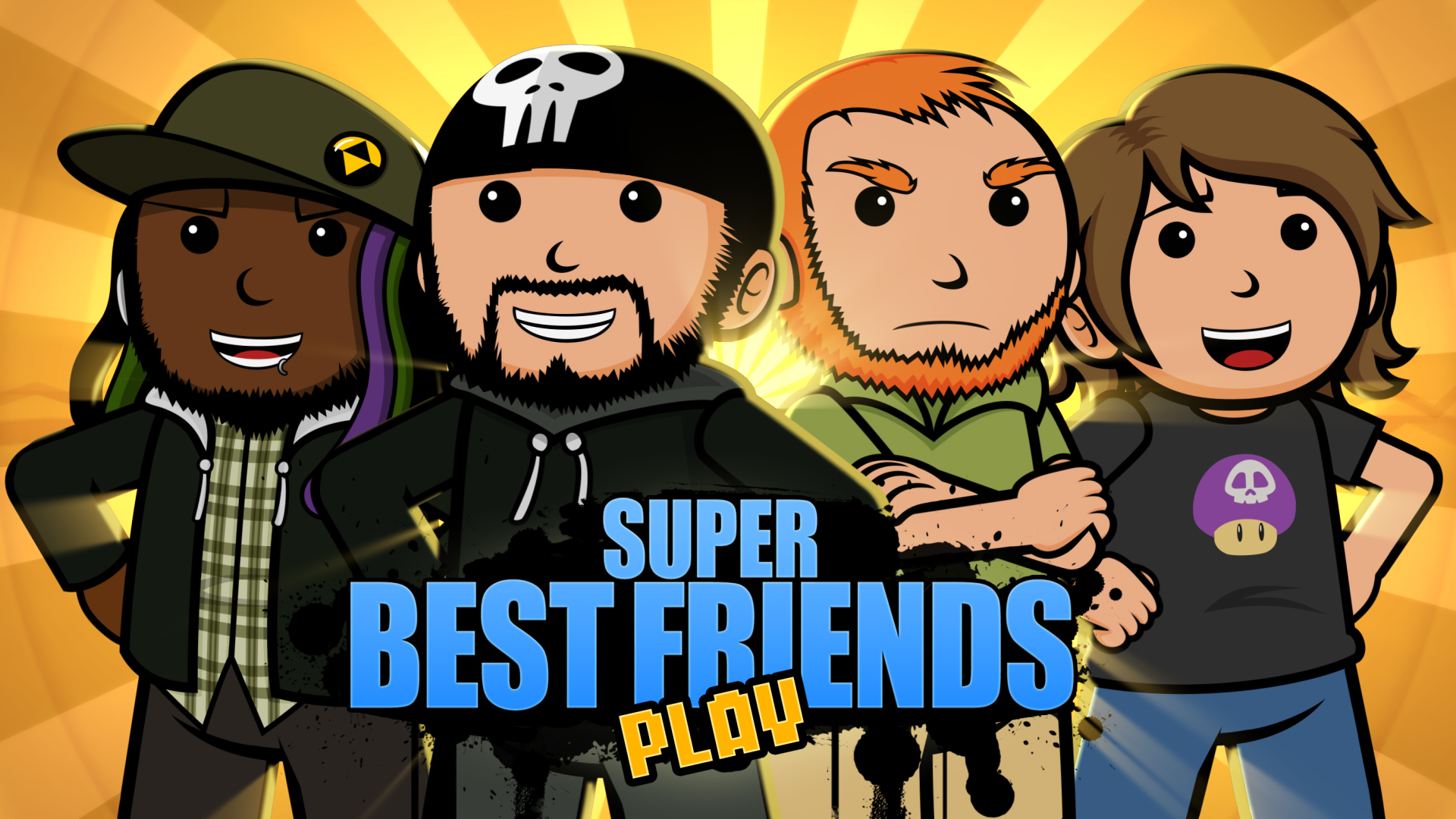 Super Best Friends Play by 2snacks