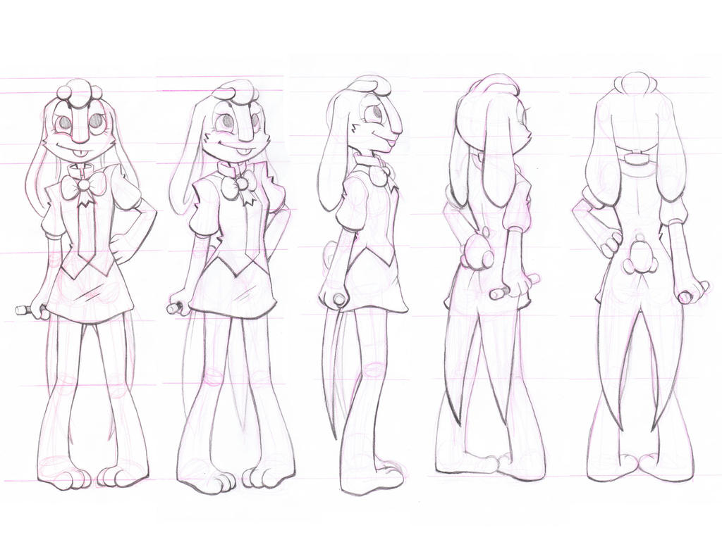 Sheridan College Character Design : Character rotation by forever eternal on deviantart