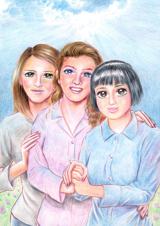Tres amigas_Three friends