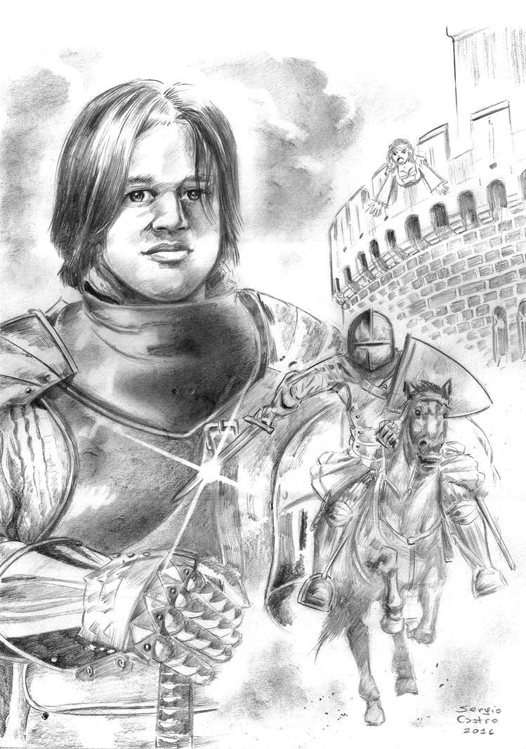 Pablo The Knight by SergioKa