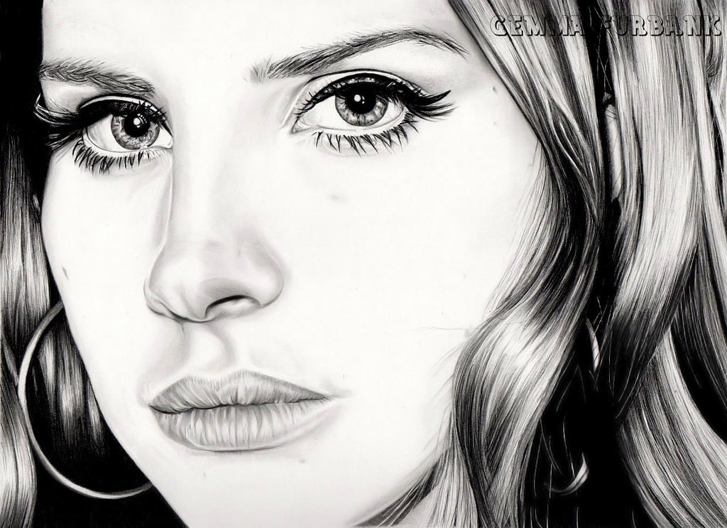 Lana Del Rey by GemmaFurbank on DeviantArt