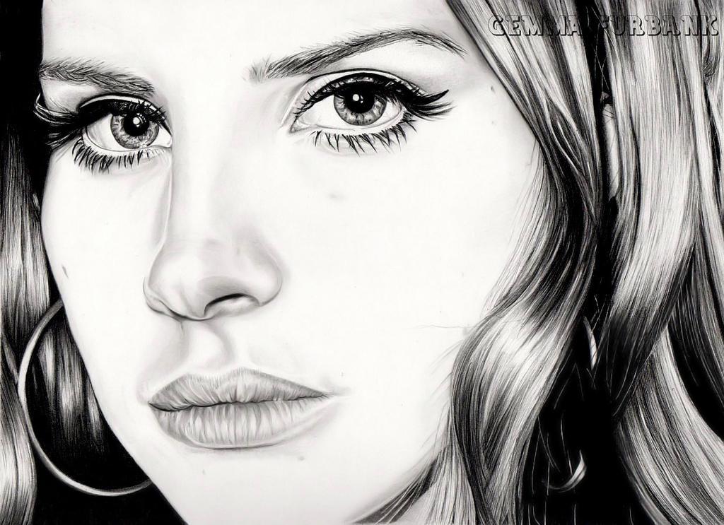 Lana Del Rey by GemmaFurbank on DeviantArt