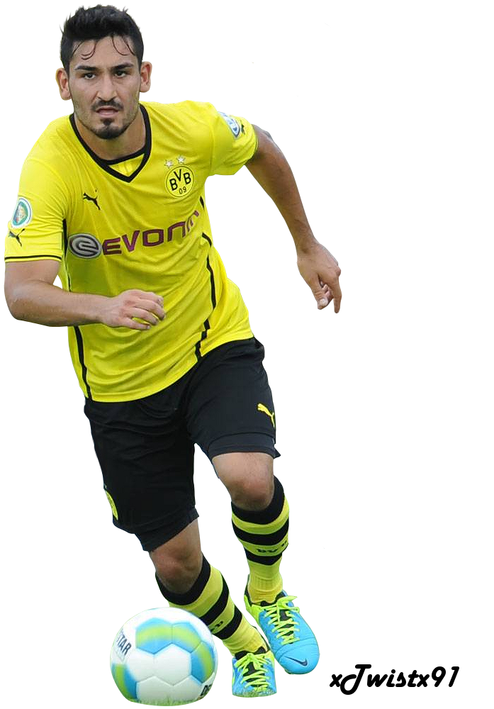 Ilkay Gundogan Wallpaper Ilkay Gundogan Render ...