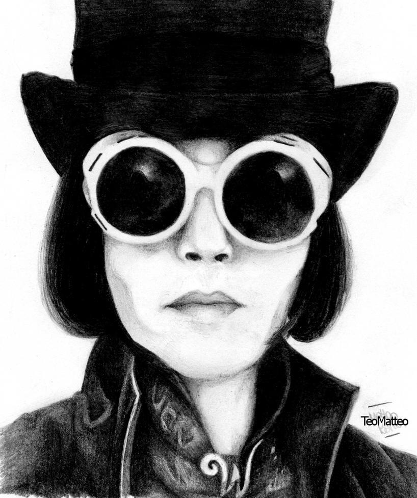 WILLY WONKA - JOHNNY DEPP by TeoMatteoWilly Wonka Johnny Depp