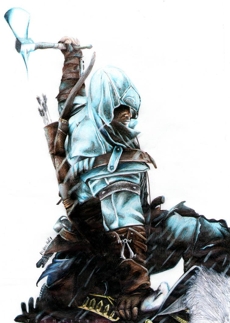 Assassin's Creed III - Ballpoint Pen by TeoMatteo