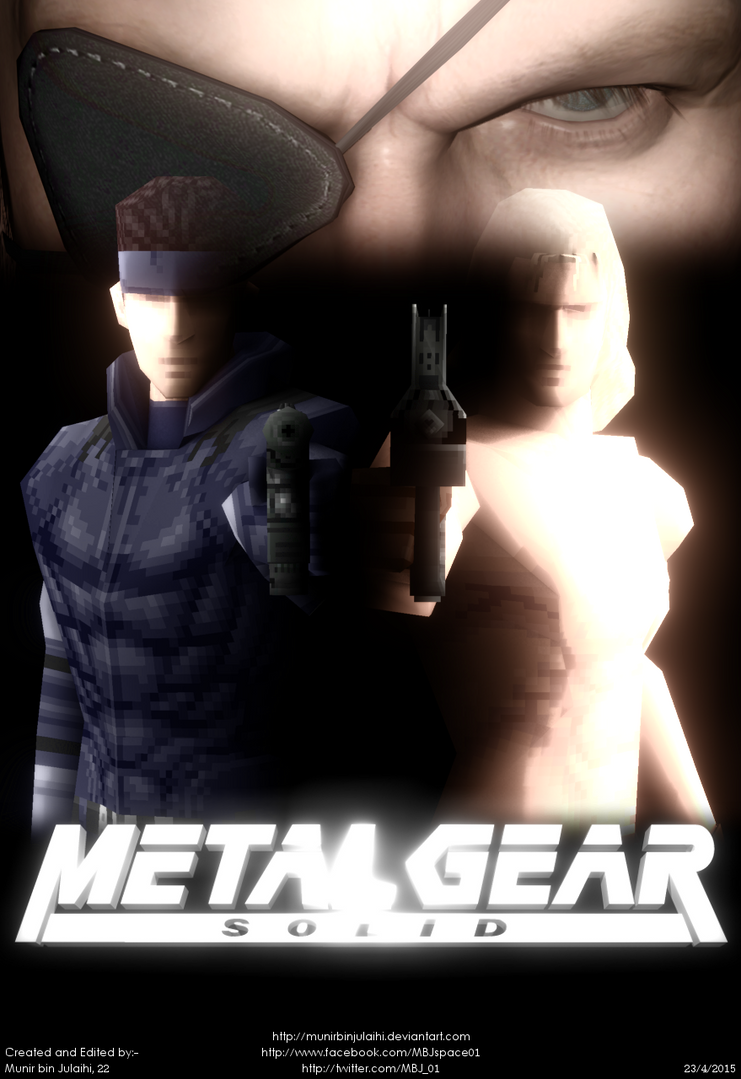 Metal Gear Solid Movie Teased By A Fan Made Poster