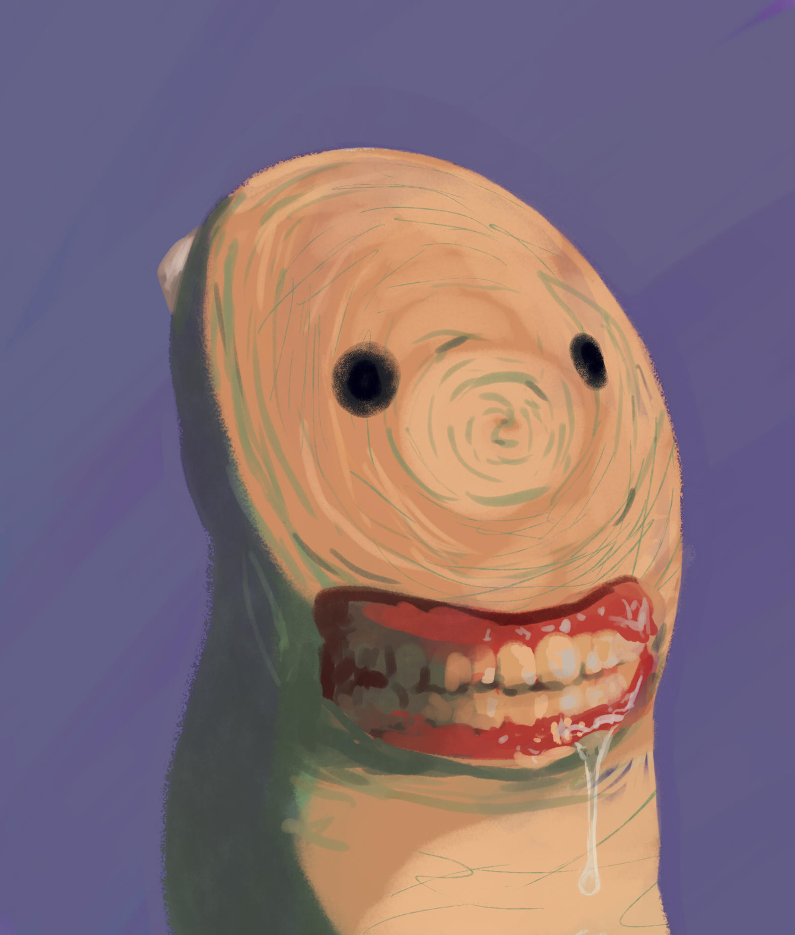 Thumb teeth by octomanz