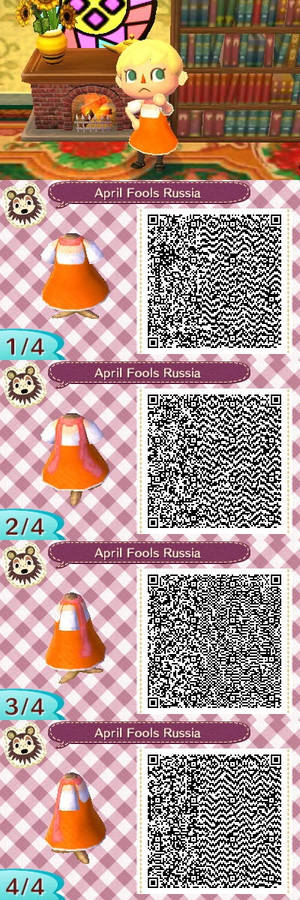 Animal Crossing New Leaf - April Fools Russia