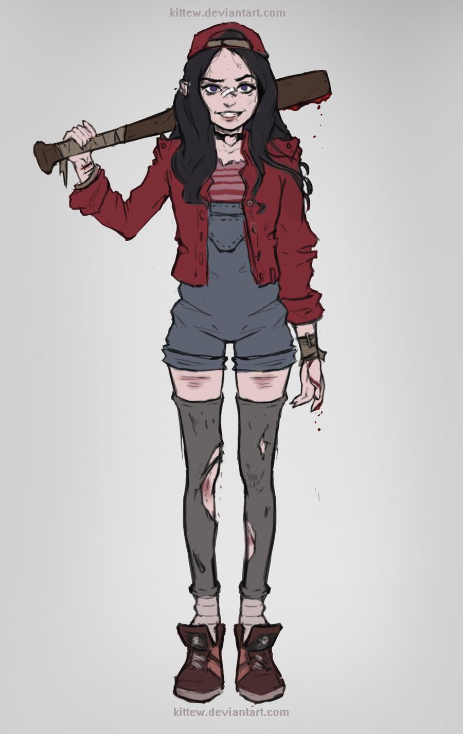 Character Design Oc : Oc character sketch by kittew on deviantart