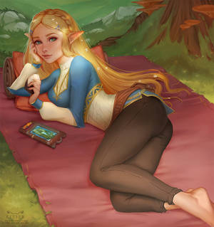 Picnic with Zelda