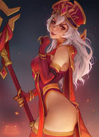 Whitemane by Kittew