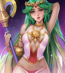Palutena nsfw preview by Kittew