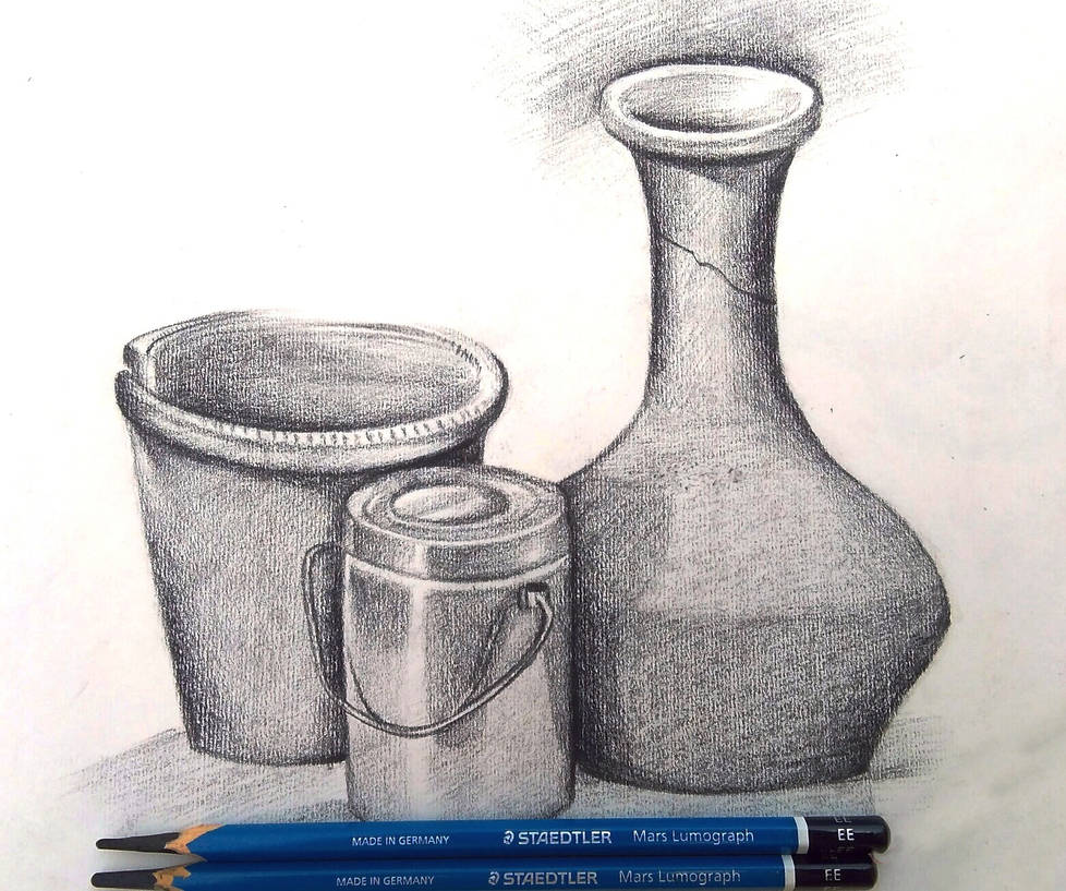 Still life pencil sketch by iamsahilartist on deviantart