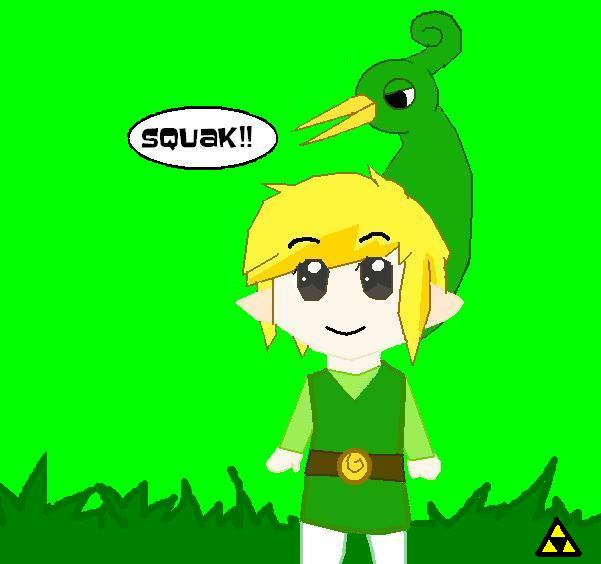 ITS CHIBI TOON LINK!!! by toonlinkxx13