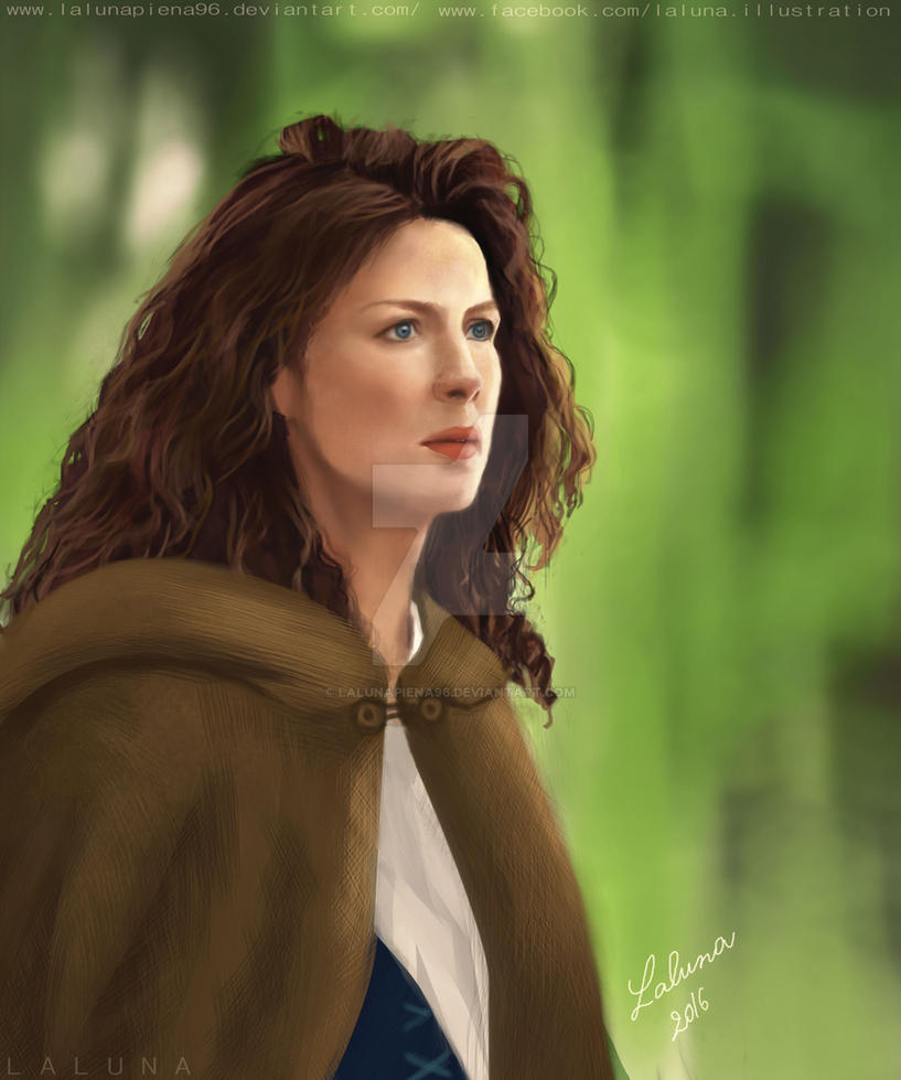 Claire Fraser by LalunaPiena96