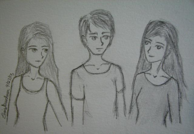 The Maze Runner: Brenda, Thomas, and Teresa by xXxCristianaxXx on ...