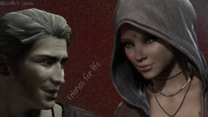Vergil And Kat Friends