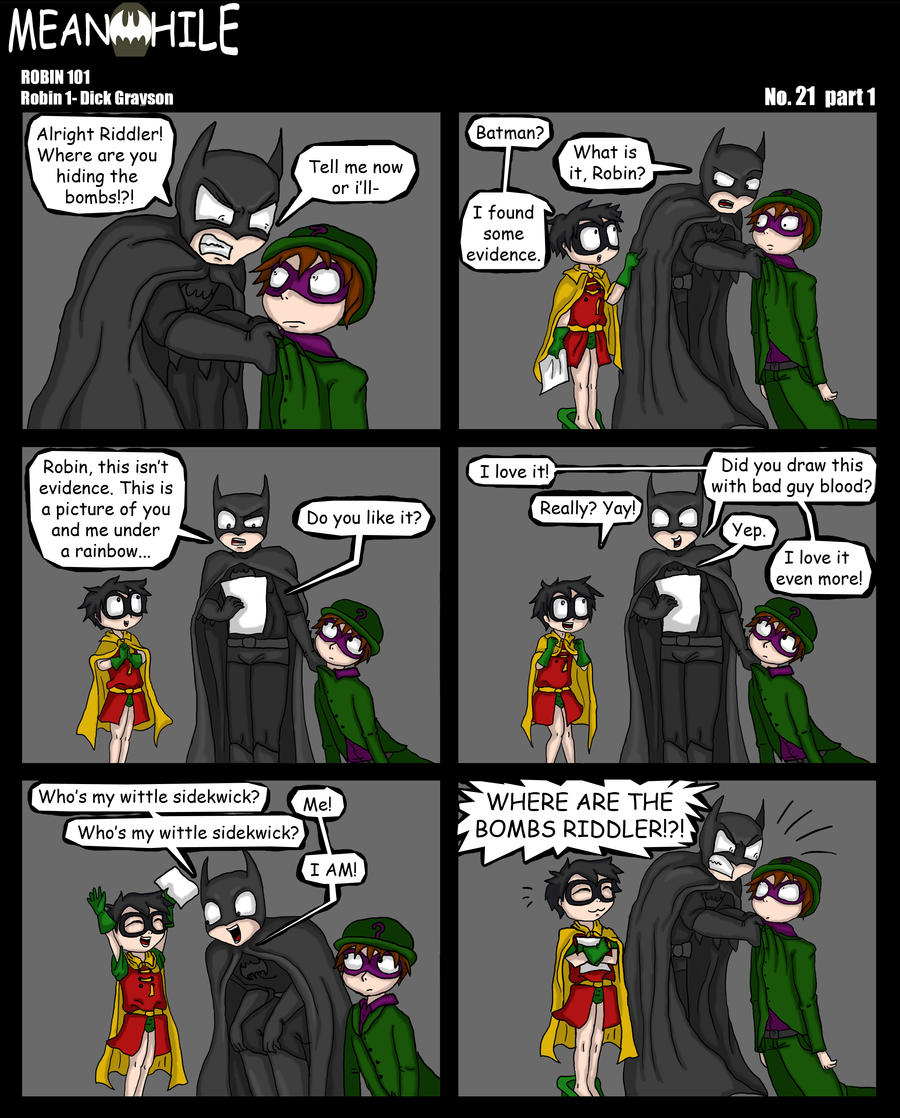 Robin 101: Dick Grayson by Tragic-Ballerina