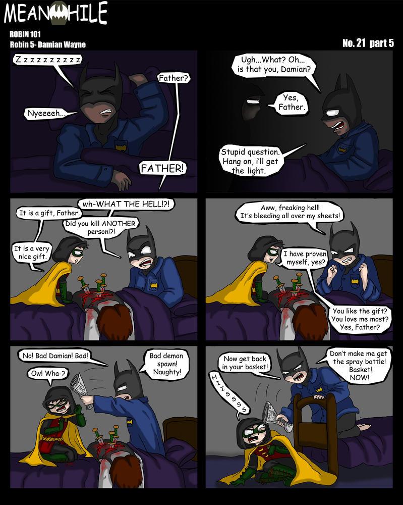 Robin 101: Damian Wayne by Tragic-Ballerina