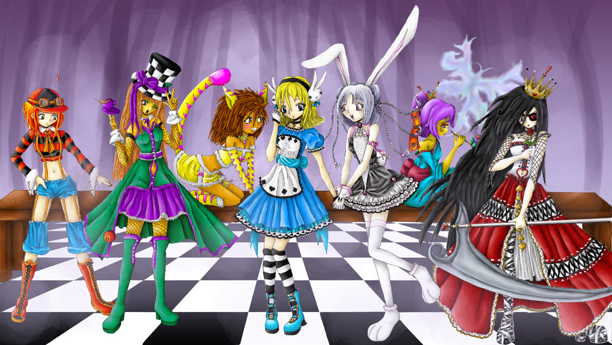Alice In Wonderland Tea Party By Tragic Ballerina