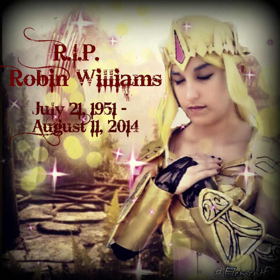 R.I.P. Robin Williams by Xalitha