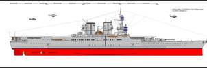 Battle Carrier USS Kerasage by tacrn1