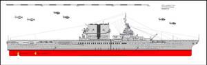 CV2 USS Lexington Aircraft Carrier