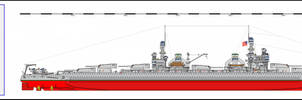 USS Illinois Super Dreadnought Battleship by tacrn1