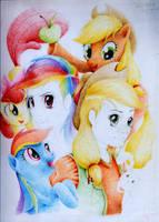 Pony Portrait by Ruffu