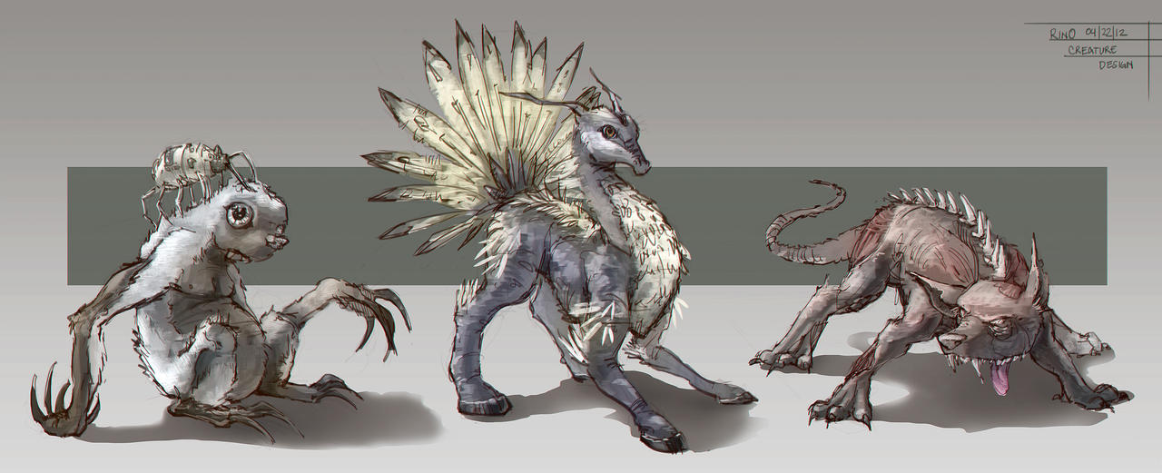 Creature Design 2 By Ruffu On Deviantart