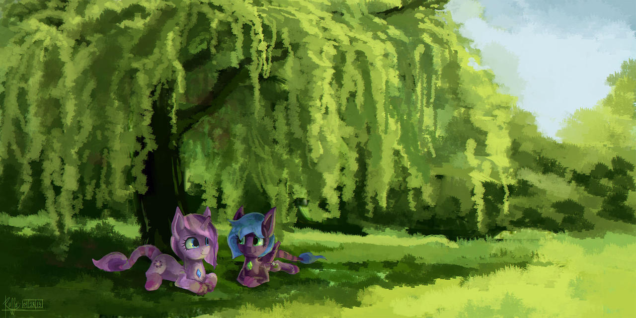 [request] Under the Willow by Ruffu
